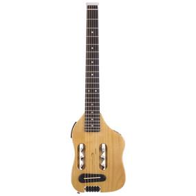 Traveler Guitar Escape Steel String Acoustic Electric Travel Guitar, Natural (ESCS NAT)