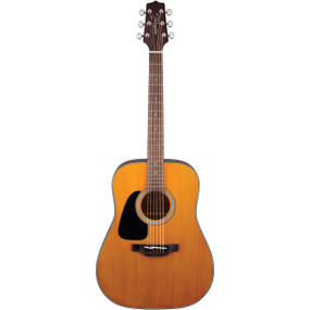 Takamine GD30LH-NAT Left-Handed Dreadnought Acoustic Guitar, Natural