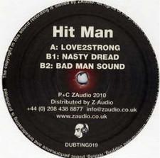 "Hit Man - Love2strong - 12"" Vinyl"