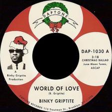"""Binky Griptite - World of Love/Stone Soul Christmas - 7"""" Vinyl"""