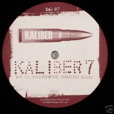 """Kaliber - #7 - 12"""" Vinyl"""