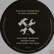 "Anthony Mansfield/Nick Chacona - Heat - 12"" Vinyl"