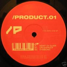 """Product 01 - Zero One Ep - 12"""" Vinyl"""