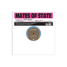 "Mates Of State - Re-arranged Remixes Vol.1 - 12"" Vinyl"