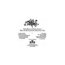 """Paulie Rhyme/Tut - Where Do You Go/The Key - 12"""" Vinyl"""