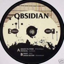 """6blocc - OBSIDIAN - 12"""" Vinyl"""
