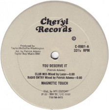 "Magnetic Touch - You Deserve - 12"" Vinyl"