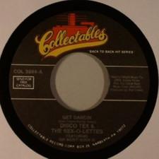 """Disco Tex - Get Dancin/Dance Wit Choo - 7"""" Vinyl"""