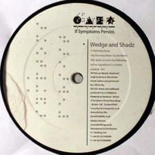 """Wedge & Shadz - Running Away - 12"""" Vinyl"""