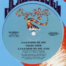 """Crash Crew - 2-4-6-8/Here - 12"""" Vinyl"""