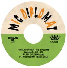 """Ghislain Poirier - Mic Diplomat - 7"""" Vinyl"""
