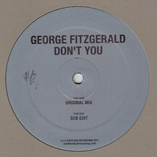 """George Fitzgerald - Don't You - 12"""" Vinyl"""