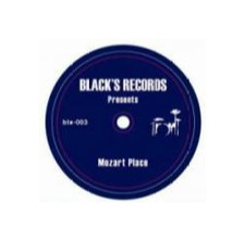 "Andrew Black - Mozart Place - 7"" Vinyl"