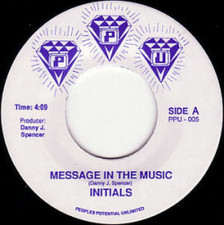 "Initials - Message - 7"" Vinyl"