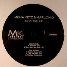 """Mena Keys & Marlon D - Sparks - 12"""" Vinyl"""
