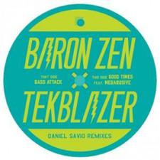 "Baron Zen & Tekblazer - Bass Attack - 7"" Vinyl"