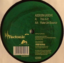 "Addison Groove - This is It/Make Um Bounce - 12"" Vinyl"