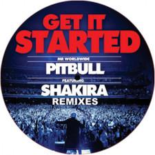 "Pitbull - Get It Started Remixes - 12"" Vinyl"