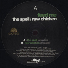 "Feed Me - The Spell/Raw Chicken - 12"" Vinyl"