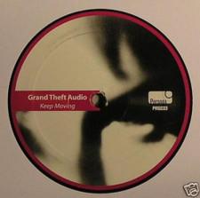 "Grand Theft Audio - Keep Moving - 12"" Vinyl"