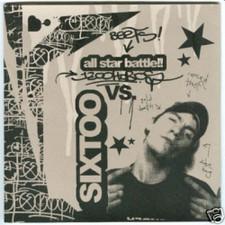 """Sixtoo - All Star Battle - 2x 7"""" Vinyl"""