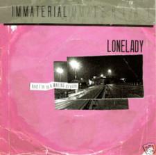 "Lonelady - Immaterial - 7"" Vinyl"