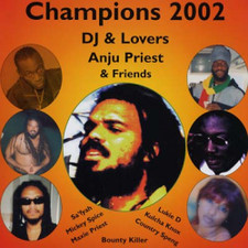 "Anju Priest & Friends - Champions 2002 DJ & Lovers - 12"" Vinyl"