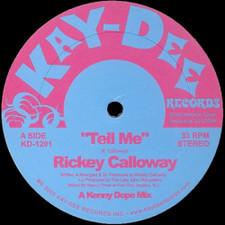 """Rickey Calloway - Tell Me - 12"""" Vinyl"""