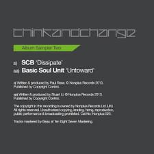 "Various Artists - Think & Change Sampler 2 - 12"" Vinyl"