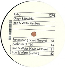 "Gingy & Bordello - Iron & Water Remixes - 12"" Vinyl"