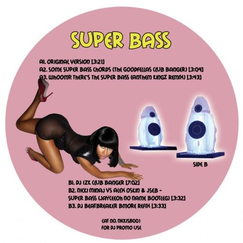 Nicki Minaj Super Bass Remixes 12 Vinyl Ear Candy Music