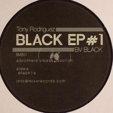 "Tony Rodriguez - Black Ep #1 - 12"" Vinyl"