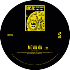 """Bosq of Whiskey Barons - Movin On/Keep Movin' - 12"""" Vinyl"""