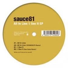 """Sauce81 - All In Line - 12"""" Vinyl"""