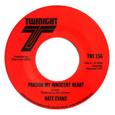 "Nate Evans - Pardon My Innocent Heart - 7"" Vinyl"