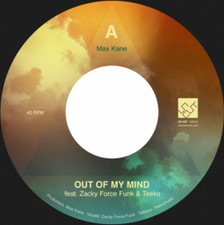 "Max Kane - Out Of My Mind - 7"" Vinyl"