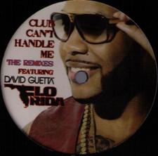 """Flo Rida / David Guetta - Club Can't Handle Me Remixes - 12"""" Vinyl"""