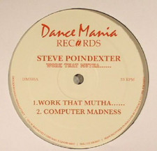 "Steve Poindexter - Work That Mutha.. - 12"" Vinyl"