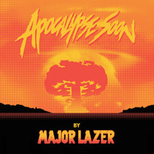 "Major Lazer - Apocalypse Soon Ep - 12"" Vinyl+CD"
