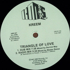 "Kreem - Triangle Of Love - 12"" Vinyl"
