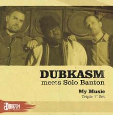 "Dubkasm - Dubkasm Meets Solo Banton - 3x 7"" Vinyl"