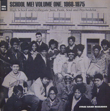 Various Artists - School Me! Vol.1 1968-75 High School & Collegiate Jazz Funk Soul - 2x LP Vinyl