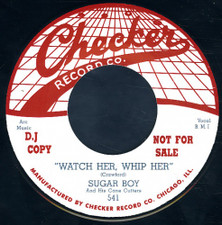 "Sugar Boy - Watch Her, Whip Her - 7"" Vinyl"