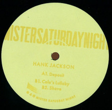 "Hank Jackson - Deposit - 12"" Vinyl"