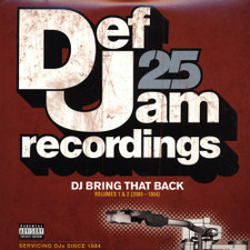 Def Jam 25 - DJ Bring That Back Vol 1 & 2 - 4x LP Vinyl