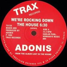 "Adonis - Rocking Down the House - 12"" Vinyl"