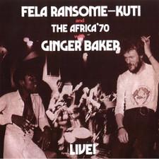Fela Kuti & Ginger Baker - Live! - LP Vinyl