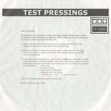 "Demdike Stare - Testpressing#006 - 12"" Vinyl"