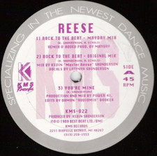 """Reese - Rock To The Beat - 12"""" Vinyl"""