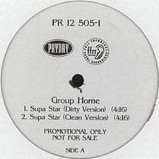 "Group Home - Supa Star / So Called Friends - 12"" Vinyl"